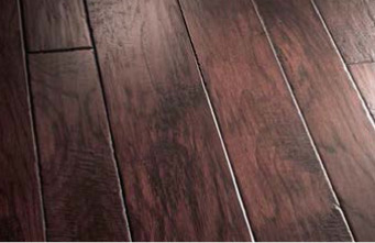 hardwood flooring close-up